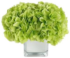 home decor artificial silk flower with vase led arrangement