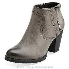 clarks womens boots canada s clarks mission halle grey leather 389572 canada for cheap