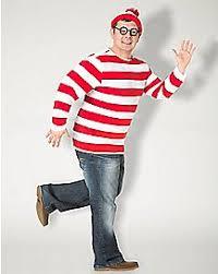 Wheres Waldo Halloween Costume Funny Halloween Costumes Crazy Costumes Spencer U0027s
