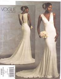 vogue wedding dress patterns wedding dresses patterns vogue
