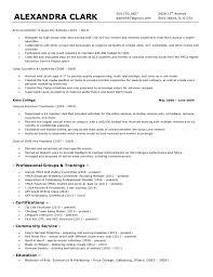 Activities Coordinator Resume Aclark Resume