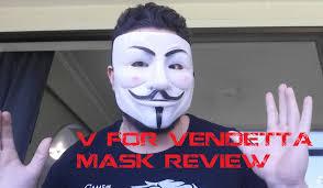 2 v for vendetta mask review from ebay youtube