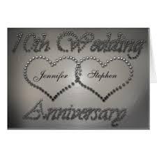 anniversaire mariage 10 ans cartes de vœux anniversaire mariage 10 ans personnalisées zazzle fr