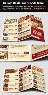 food menu templates graphicriver sweet shop and ice cream
