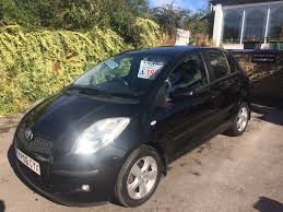 used toyota yaris t spirit 2006 cars for sale motors co uk