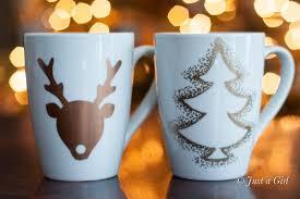 christmas mug happy holidays gift idea diy christmas mugs tatertots and jello