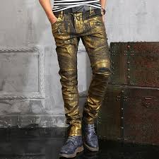 online shop luxury famous true stuff gold painted colored skinny