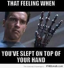 Top Meme - 24 sleeping on top of your hand meme pmslweb
