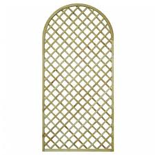 Metal Garden Trellis Uk English Rose Round Top Shaped Trellis U003e Garden Panel Tate Fencing