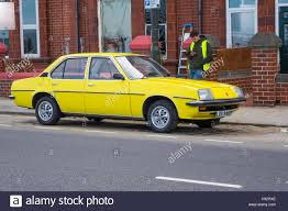 vauxhall yellow a yellow 1975 vauxhall cavalier car used in filming making noise