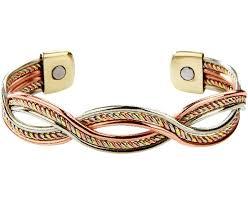 magnetic copper bracelet images Tricolour magnetic copper bracelet scotts of stow jpg