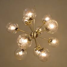 Vintage Glass Chandelier Vintage Glass Sputnik Glass Chandeliers Chandelier Fine Lighting