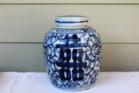 ginger jar blue u0026 white ginger jar omero home