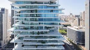 herzog u0026 de meuron builds a tower of vertically layered luxury