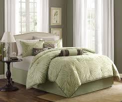 Tropical Comforter Sets King Amazon Com Madison Park Freeport 7 Piece Jacquard Comforter Set