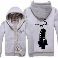 fantastic beasts and where to find them hoodie with zipper knarl
