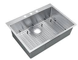 Starstar  Inch Topmount  Drop In Stainless Steel Single Bowl - Stainless steel single bowl kitchen sink