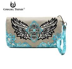 Confederate Flag Wallet Cowgirl Trendy Wing And Cross Wristlet Wallet U2013 All Things Country