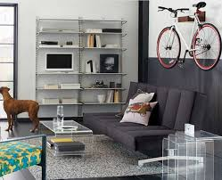 apartment bike storage with wall mounted bike hanger ideas home
