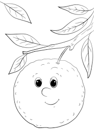 cartoon orange character coloring free printable coloring pages