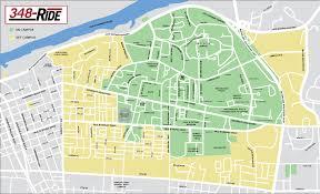 Alabama City Map 348 Ride U2013 Crimson Ride The University Of Alabama