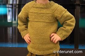 how to knit a sweater how to knit a sweater for a child interunet