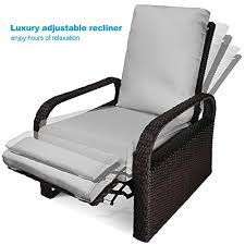 Patio Recliner Chair Luxury Patio Recliner Chair Babylon Dualuse Indooroutdoor Resin