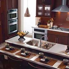 kitchen room modern japanese kitchen design with big cabinet and