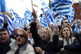 Vergina Flag Greeks Rally In Athens To Protest Use Of The Name Macedonia U2013 The