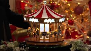 mr limited edition carousel with lights with albany irvin