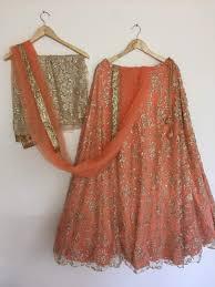 wedding dress indian beige net shimmer wedding dresses indian lehenga