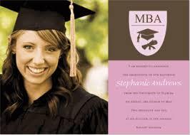 mba graduation invitations graduation announcements