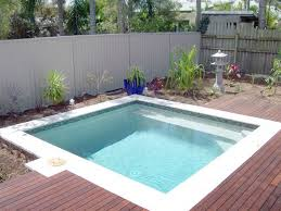 tiny pool don t call them tiny pools these are plunge pools perhaps tiny