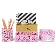 floral office supplies Floral Desk Accessories