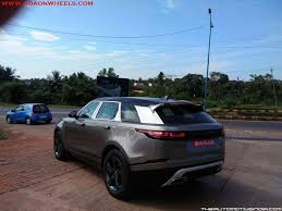 land rover india range rover velar spotted in india