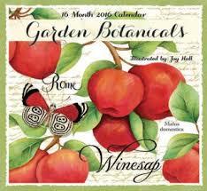 Garden Botanicals Garden Botanicals 2018 Premium Wall Calendar 16