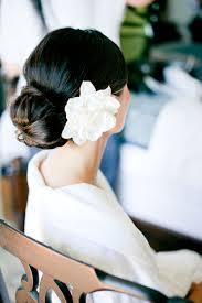 flower hair bun flower in bun bridal hair ideas bridal hair hair buns and flower