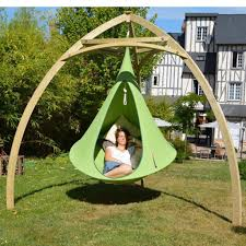 Outdoor Hammock With Stand Wooden Tripod For Cacoon Hammocks Cacoon World Hammock Town
