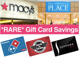 gift card discounts hot gift card discounts macy s sephora dominos more