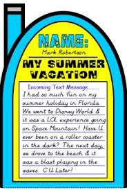 how i spent my summer vacation lesson plans author mark teague