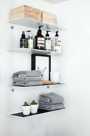 design bathroom decorative shelves ideas wall cabinet home