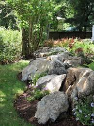 best 25 large landscaping rocks ideas on boulder