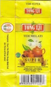 Teh Melati tea bag teh melati tong tji indonesia col tb id 0298
