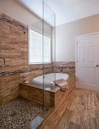 4 X 7 Bathroom Layout Glass Enclosed Shower Bathroom Contemporary With 12 X 24 7 X 12