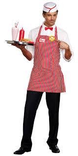 men costumes men s diner dude costume retro 50 s costumes 50 s costumes