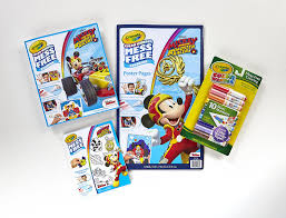 amazon com crayola color wonder mess free coloring mickey mouse