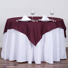 wholesale wedding linens square 54 x 54 inch polyester tablecloth wedding linens