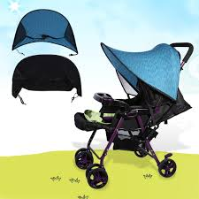 Baby Stroller Canopy by Infant Pushchair Pram Sunshade Hood Baby Stroller Canopy Cover