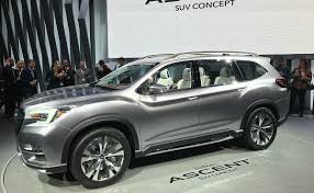 subaru suv concept interior subaru looks to build on sales success