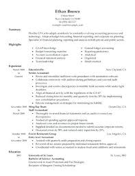 entry level accounting resume exles exles of accounting resumes accountant resume sle free